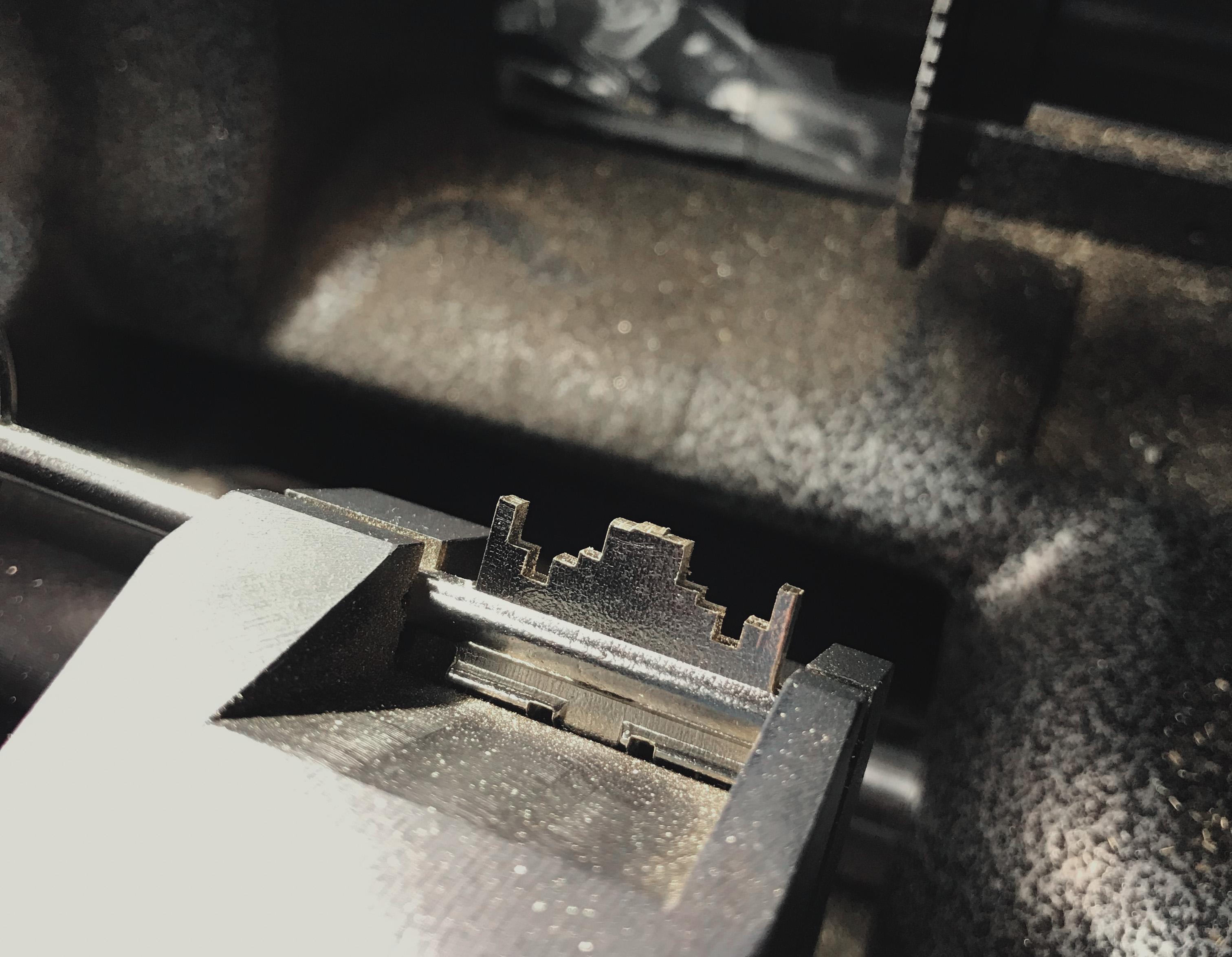 виготовлення сувальдного ключа