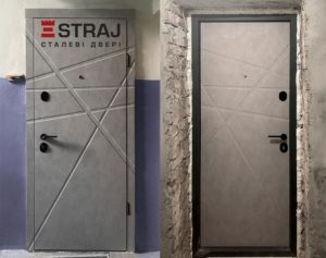 Вхідні дизайнерські двері. СТРАЖ