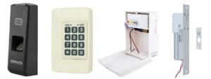 комплект системи контролю доступа за відбитком пальця