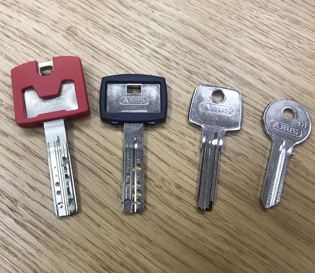 форигінальні ключі абус