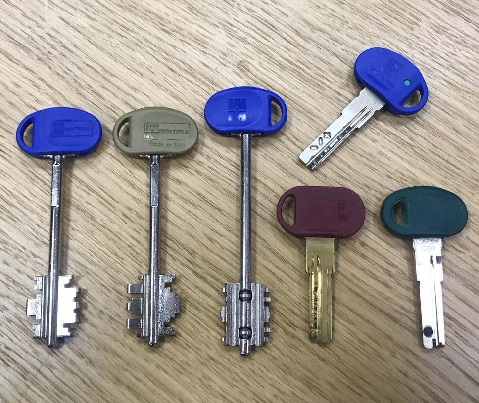 оригінальні ключі мотура
