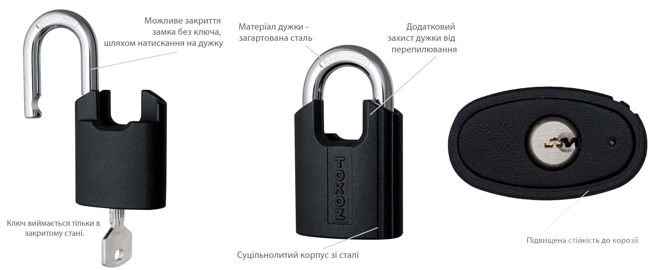 навісні замки tokoz guard_